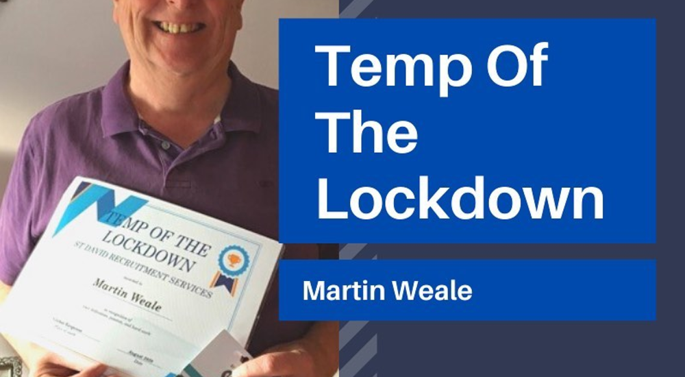 Temp of the Lockdown - August 2020